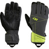 Outdoor Research Illuminator Sensor Gloves 096-Charcoal/Lemongrass